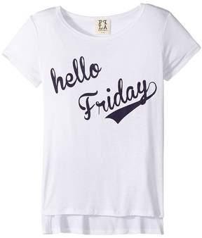 (+) People People Hello Friday Square Tee (Big Kids)