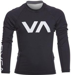 RVCA Boy's VA Long Sleeve Rashguard 8157430