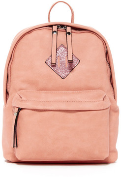 Madden Girl Glitter Patch Mini Backpack