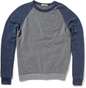 Alternative Apparel Men's Champ Raglan Sweatshirt