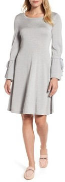 CeCe Women's Bell Sleeve Sweater Dress