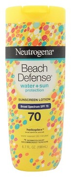 Neutrogena® Beach Defense® Sunscreen Lotion - SPF 70 - 6.7oz