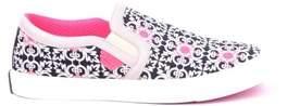 Moa Women's Multicolor Fabric Slip On Sneakers.