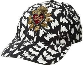 Dolce & Gabbana Sacred Heart Baseball Cap Baseball Caps