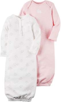 Carter's Baby Girls 2-pk. Baby Pink Gowns 3 Month Pink