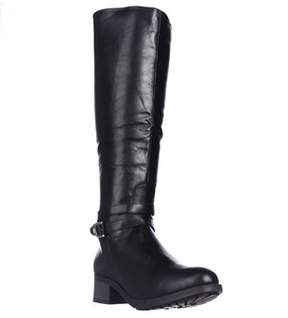 Rampage Imelda Knee-high Riding Boots, Black.