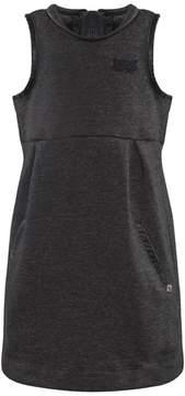 Ikks Charcoal Jersey Pinafore Dress