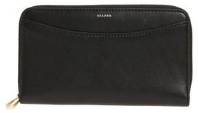 Skagen Women's Compact Continental Wallet - Black