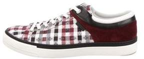 Louis Vuitton Monogram Check Sneakers