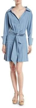 Alice + Olivia Amanda Shirtdress With Belt