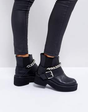Asos ROSSIE Chunky Hardware Boots