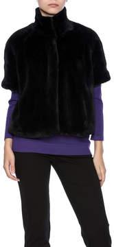 Joseph Ribkoff Short Faux Fur Coat