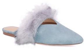 Joe's Jeans Women's Angelique Faux Fur Mule
