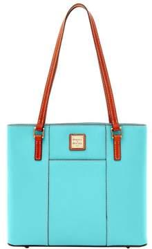 Dooney & Bourke Pebble Grain Small Lexington Shopper Bag - LIGHT BLUE - STYLE