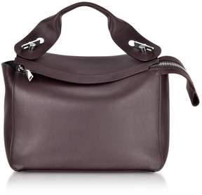 Sophie Hulme Oxblood Bolt Shoulder Bag