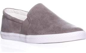 Style&Co. Sc35 Louiza Perforated Slip-on Sneakers, Light Grey.