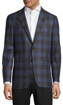 Hickey Freeman Milburn II Plaid Jacket