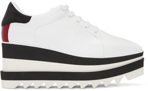 Stella McCartney White and Black Platform Derbys