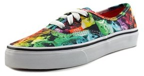 Vans Authentic X Aspca Round Toe Canvas Skate Shoe.