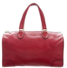 Valextra Leather Milano Bag