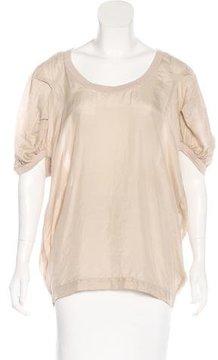 DAY Birger et Mikkelsen Silk Short Sleeve Blouse