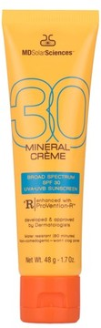 MDSolarSciences TM) Mineral Creme Broad Spectrum Spf 30 Sunscreen