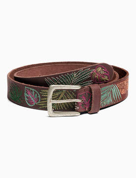 Lucky Brand TROPICAL EMBROIDERED BELT