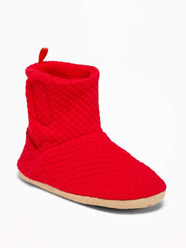Old Navy Quilted Jersey Booties for Toddler