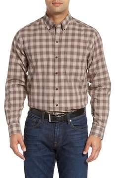 Cutter & Buck 'Ridge' Plaid Cotton Poplin Sport Shirt
