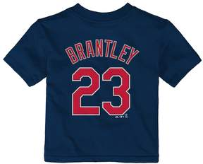 Majestic Baby Cleveland Indians Michael Brantley Name and Number Tee