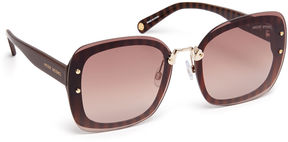Henri Bendel Louise Square Sunglasses