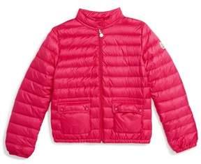 Moncler Girl's Lans Water Resistant Down Jacket