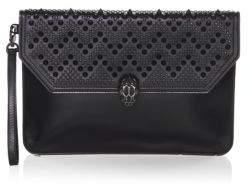 Bvlgari x Nicholas Kirkwood Serpenti Forever Studded Leather Wristlet