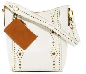Frye Harness Stud Leather Bucket Bag