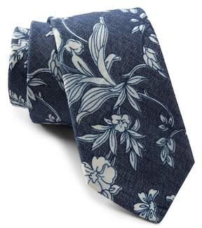 Original Penguin Indigo Floral Tie