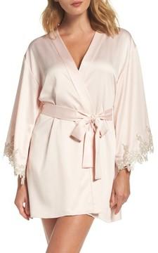 Flora Nikrooz Women's Alessia Charm Satin Robe