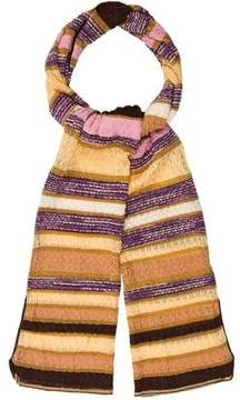 Missoni Striped Knit Scarf