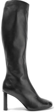Joseph Leather Knee Boots - Black