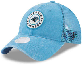 New Era Women's Carolina Panthers Perfect Patch 9TWENTY Snapback Cap