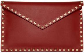 Valentino Red Garavani Rockstud Envelope Pouch