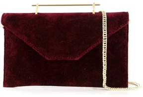 M2Malletier velvet clutch bag