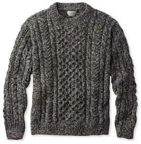 L.L. Bean Heritage Sweater, Irish Fisherman's Crewneck