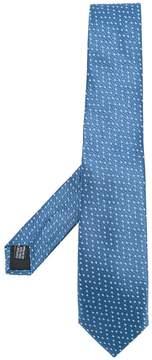 Cerruti square pattern tie