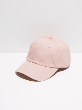 Frank and Oak Cotton-Twill Dad Cap in Dusty Pink