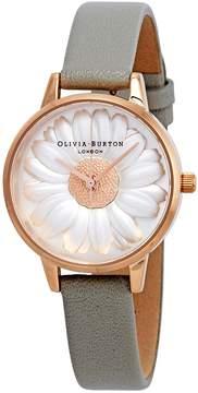 Olivia Burton Flower Show 3D Daisy White Dial Ladies Watch