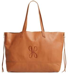 Hobo Journey Calfskin Leather Tote - Brown
