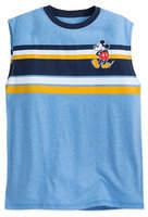 Disney Mickey Mouse Sleeveless T-Shirt for Men - Summer Fun