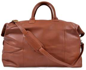 Royce Leather Royce Euro Traveler Luxury Duffel Bag Luggage Handcrafted in Genuine Leather - Tan
