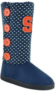 NCAA Women's Syracuse Orange Button Boots
