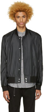 Public School Black Hargreaves Bomber Jacket